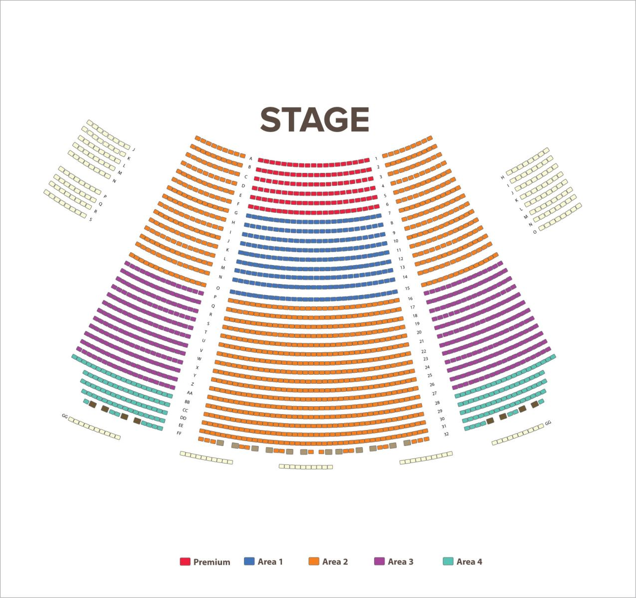 Tuacahn Amphitheater Seating Chart - Utah's Best Vacation Rentals