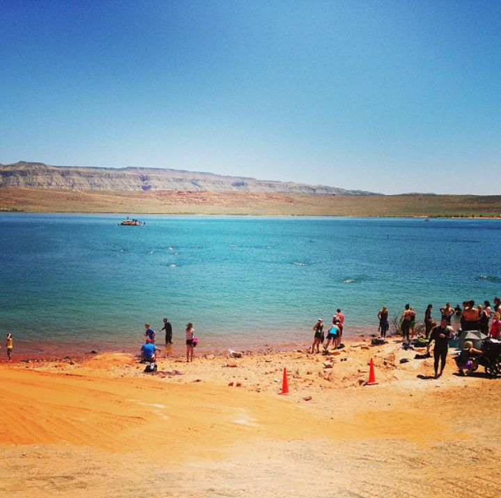 Beach at Sand Hollow State Park - Utah's Best Vacation Rentals