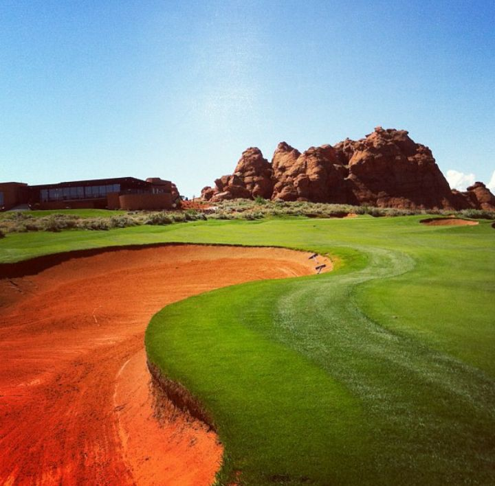 Golf at Sand Hollow Golf Course - Utah's Best Vacation Rentals