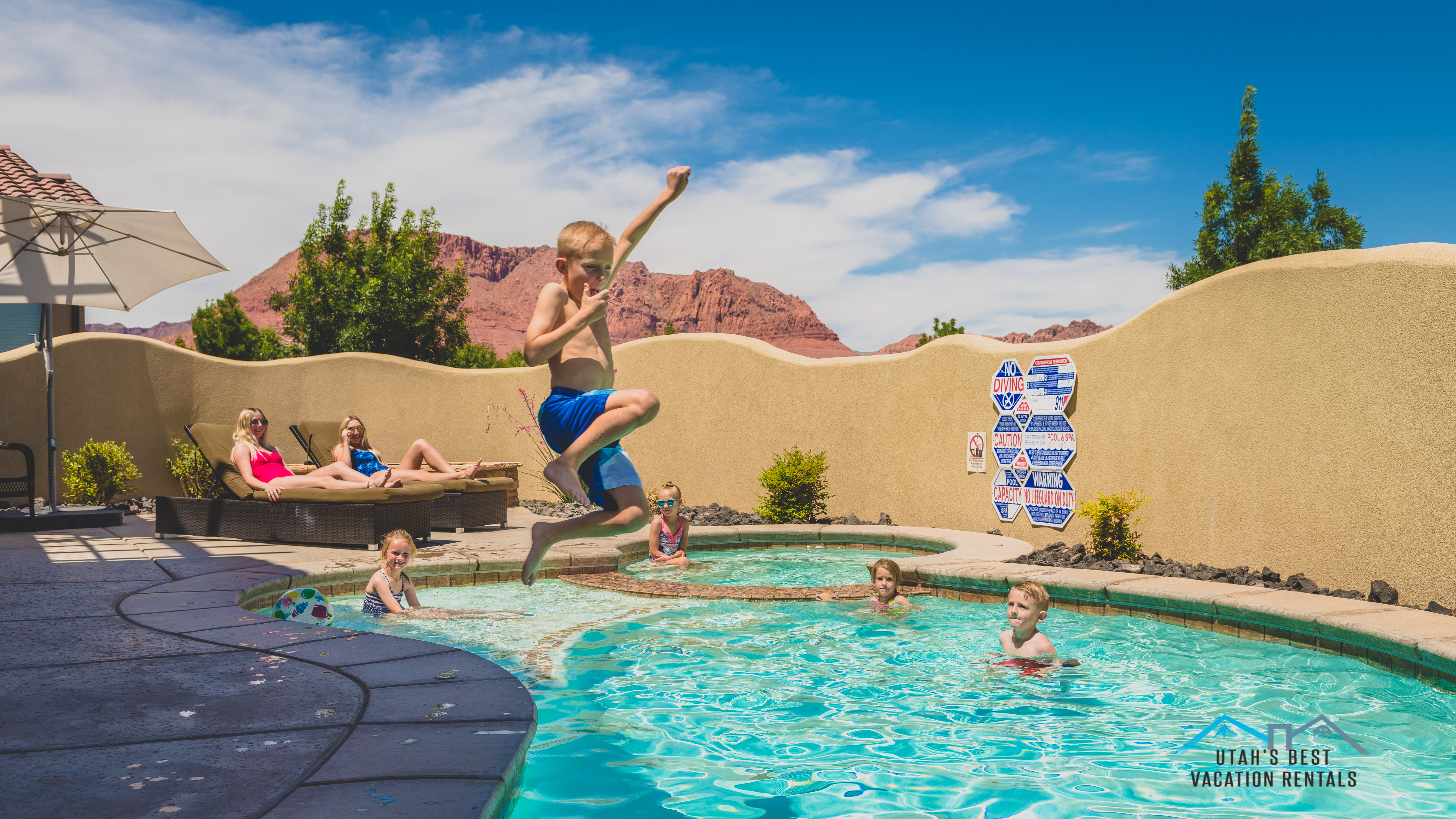 Utah Family Reunion Homes with Private Swimming Pool - Utah's Best Vacation Rentals