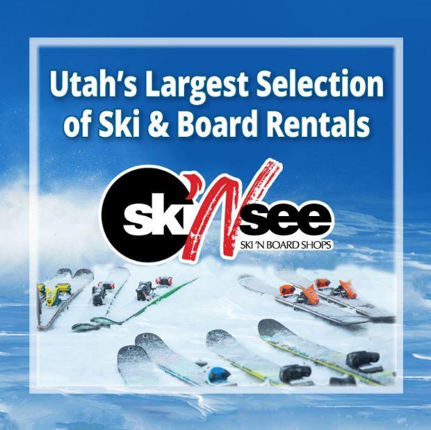 Ski Rentals at Ski 'n See - Utah's Best Vacation Rentals