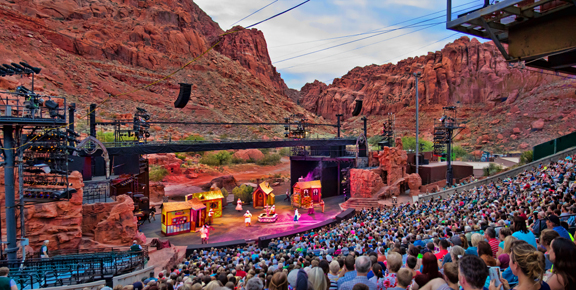 Tuacahn Amphitheater - Utah's Best Vacation Rentals