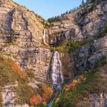 Bridal Veil Falls Near Salt Lake City Scenic Drive - Utah's Best Vacation Rentals