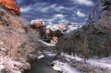 Zion National Park in Winter | Southern Utah - Utah's Best Vacation Rentals